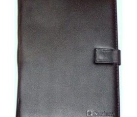 A4 Leather Folder with Tab
