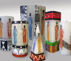Candle African Ladies
