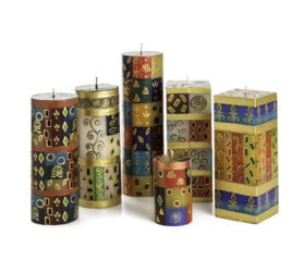 African Mineral Candle