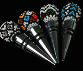 Wine Stopper Beaded