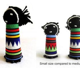 Zulu Doll Beaded