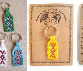 Zulu Love Letter Keyring