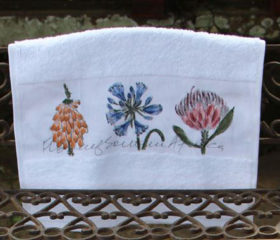 Botanical Guest Towel