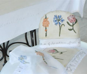 Botanical Tea Cosy and Tray Cloth Set