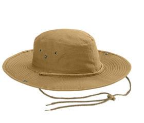 Coffee colour Bush Hat