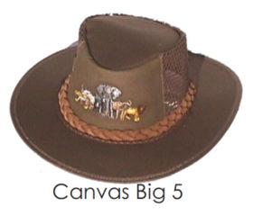 Big 5 Bush Hat Canvas