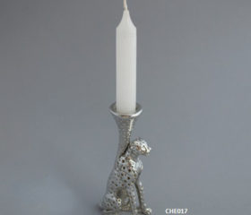 Candle Holder Cheetah