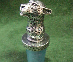 Cheetah Bottle Stopper