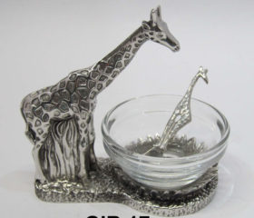 giraffe condiment bowl