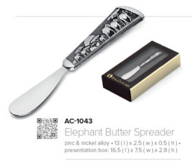 Andy C Elephant Butter or Pate Spreader