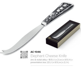Andy C Elephant Cheese Knife