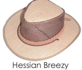 Bush Hat Hessian Breezy