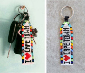 I Love Cape Town Keyring