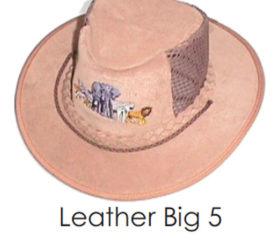 Big 5 Leather Bush Hat