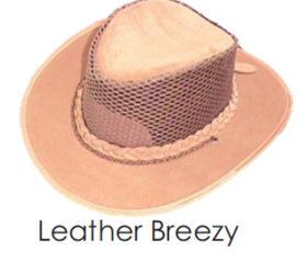 Leather Breezy Bush Hat