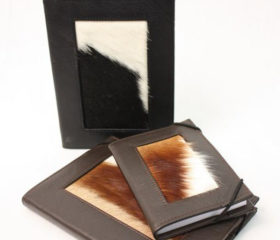 Nguni and springbok skin Notebooks