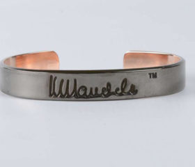Black Pearl Mandela Bangle