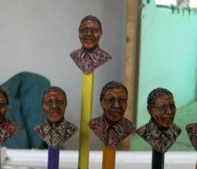 Mandela Bust Pencil