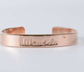 Copper Mandela Bangle