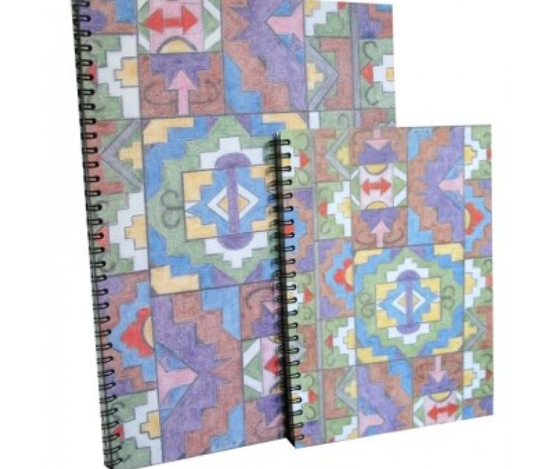 Ndebele Pattern Notebook