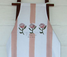 Protea Cotton Apron
