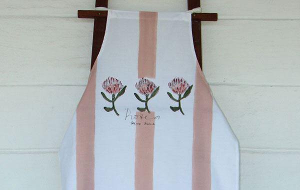 Protea design high quality kitchen apron