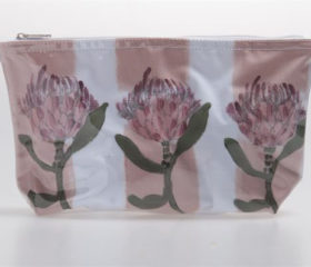 Protea Design Cosmetic Bag