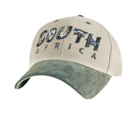 South Africa Olive and Khaki Cap