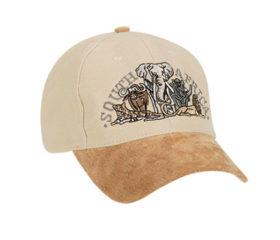 SA Cap with Big 5 Stone and Tan