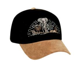 Safari Cap Black and Tan