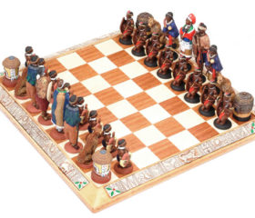 Zulu Ndebele Chess Set
