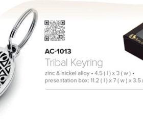 Andy C Tribal Keyring