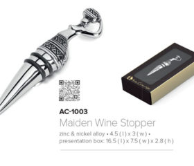 Andy C Bottle Wine Stopper