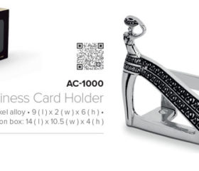 Andy C Tribal Business Card Holder