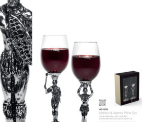 Andy C Tribal Wine Glass Set