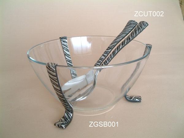 Salad Bowl Zebra