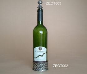 Wine Coaster Zebra