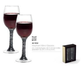 elephant wine glasses