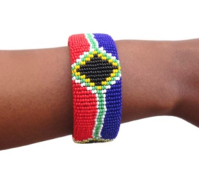 wide SA flag bangle