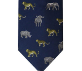 Big 5 Animal Tie