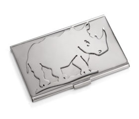 Carrol Boyes Rhino Pocket Card Holder