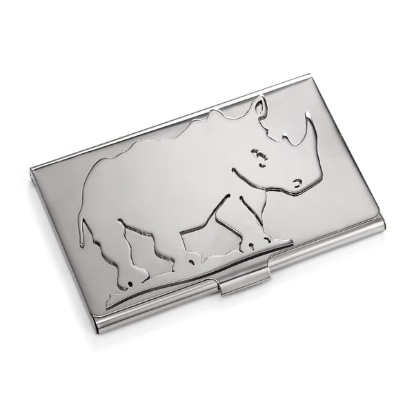 Rhino Business Card Case