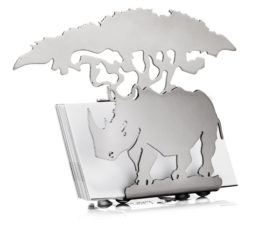 Rhino Desk Business Card Holder