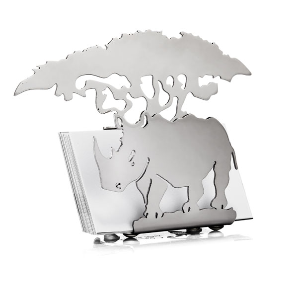Rhino business card holder african theme rhino business card holder rhino business card holder reheart Choice Image