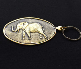 Keyring Elephant