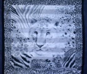 Leopard Face Scarf