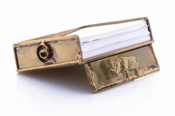 Copper Rhino Paper Holder