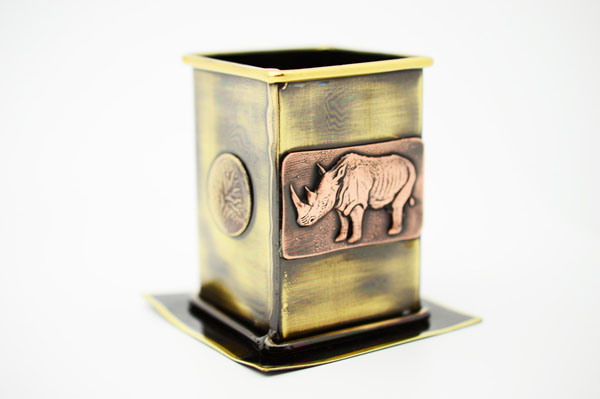 Rhino Pen Holder