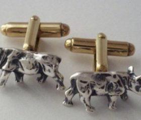 Cufflinks Rhino
