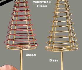 Copper Xmas Tree
